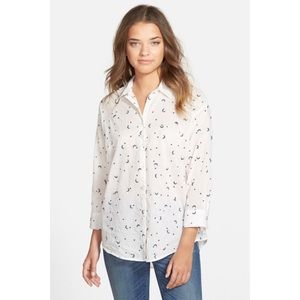 c9467d63 Madewell | Celestial Embroidered Button Down Shirt